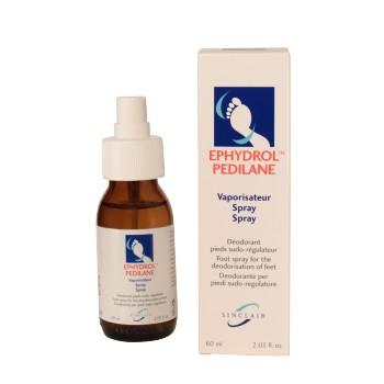 Déodorant pieds sudo-régulateur spray Ephydrol Pedilane