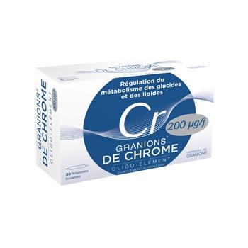 Granions de chrome 25ug
