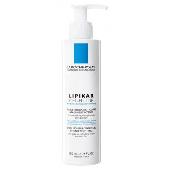 Lipikar Gel fluide peau sensible et sèche 200ml La Roche Posay