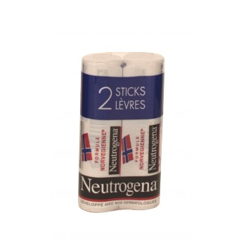Stick à lèvres - lot de 2 - Neutrogena