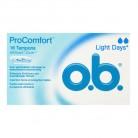 OB Tampons 16 light