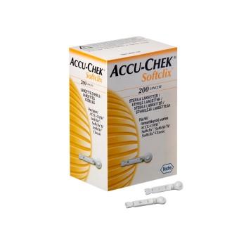 Accu Chek Softclix 200 lancettes