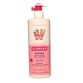 Gel douche Framboise Klorane Junior