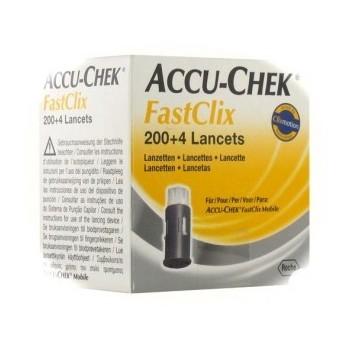Accu Chek Fastclix - 204 lancettes
