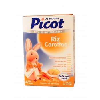 Picot Céréales Riz-carotte