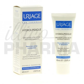Hydrolipidique Emulsion ultrariche Uriage 40ml