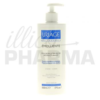 Emollient émulsion ultrariche Uriage 500ml