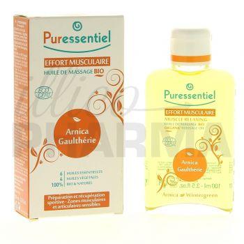 Puressentiel Effort musculaire huile massage 100ml