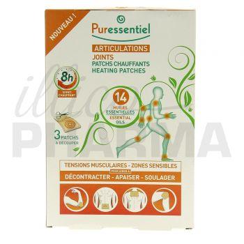 Puressentiel patch chauffant articulations x3