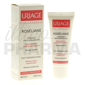 Roseliane Masque antirougeurs Uriage 40ml