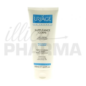 Suppleance Lait corps Uriage 200ml