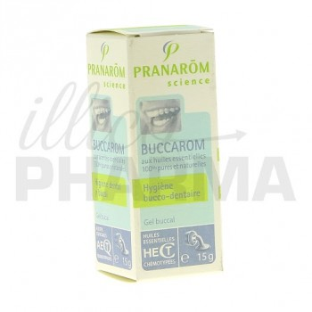 Buccarom gel bouche Pranarom 15ml