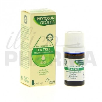 Huile essentielle tea tree bio Phytosun 5ml