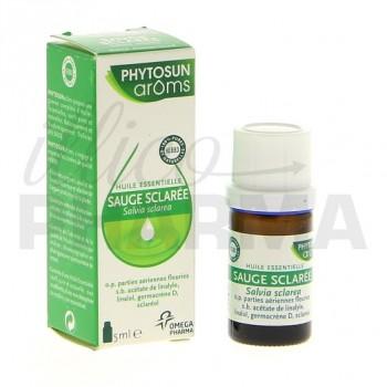Huile essentielle sauge sclarée Phytosun 5ml
