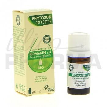 Huile essentielle Romarin 1.8 cinéole bio Phytosun 5ml