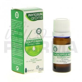 Huile essentielle eucalyptus radiata Phytosun 10ml