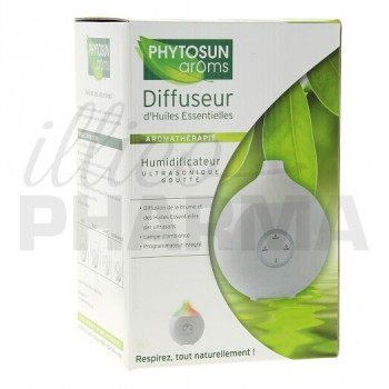 Diffuseur d'huiles essentielles humidificateur Phytosun