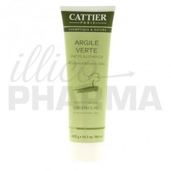 Argile verte Cattier 400g