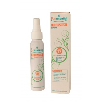 Puressentiel circulation spray 17 huiles essentielles