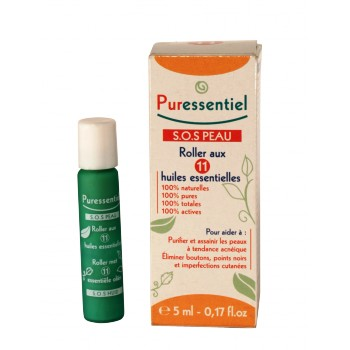 Puressentiel SOS peau 11 huiles essentielles Roller