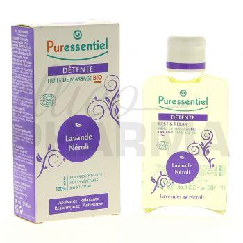 Puressentiel Détente huile massage 100ml