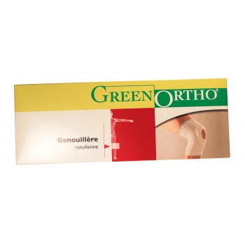 Genouillère ligamentaire écru Green Ortho
