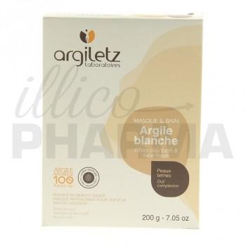 Argile blanche ultraventilée Argiletz 200g