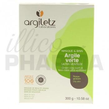 Argile verte ultraventilée Argiletz 300g