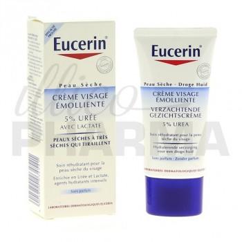 Crème visage 5% Urée Eucerin 50ml