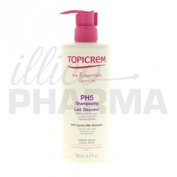 Topicrem shampooing lait pH5 500ml