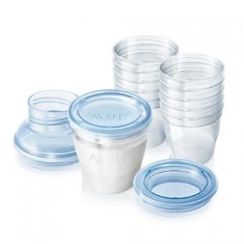 Pots de conservation lait maternel