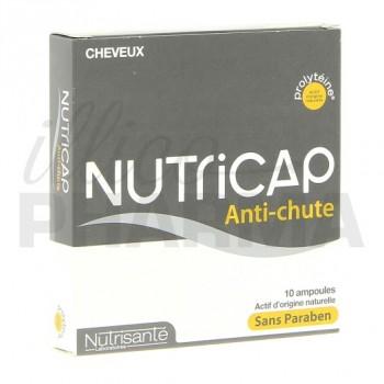 Nutricap antichute Nutrisanté 10 ampoules