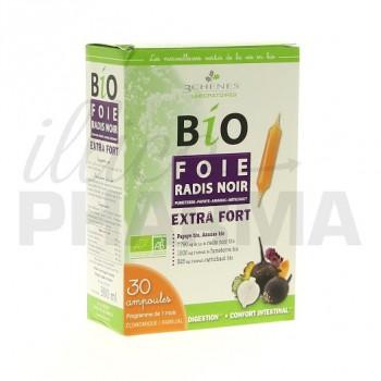 Bio foie radis noir 3 Chênes 30 ampoules