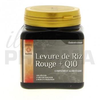 Levure riz rouge + Q10 Dayang 120 gélules