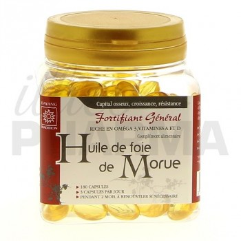 Huile de foie de morue Dayang 180 capsules