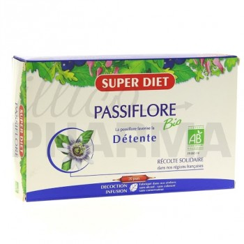 Passiflore bio Superdiet 20 ampoules