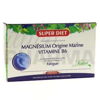 Magnésium Marin B6 Superdiet 20 ampoules