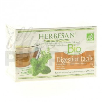 Infusion Digestion facile n°3 Herbesan 20 sachets