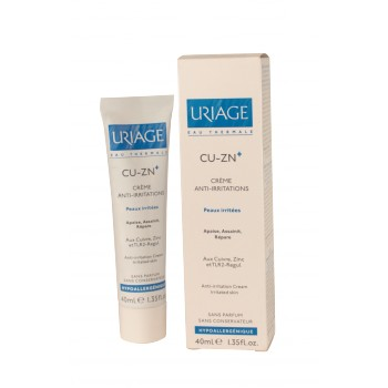 Cu-Zn+ crème anti-irritations Uriage