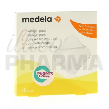 Medela hydrogel Pads x4