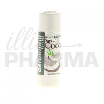 Stick lèvres coco Dermophil Indien