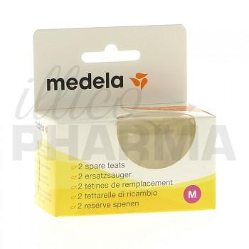 Medela Tétine Médium 2ème Age x2