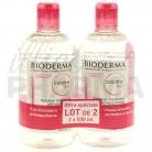 Créaline H2O 2x500ml Bioderma