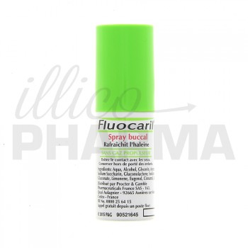 Spray buccal Fluocaril