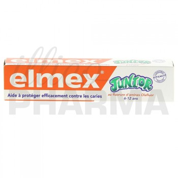 Elmex Junior 6/12 ans 75ml