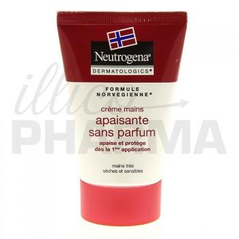 Crème main apaisante sans parfum Neutrogena 50ml