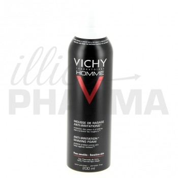 Mousse de rasage anti-irritations Vichy Homme