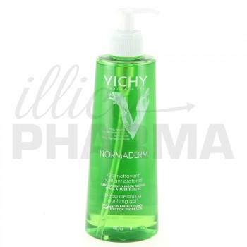 Normaderm Gel nettoyant purifiant 400ml Vichy