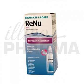 Renu MPS solution lentilles 120ml