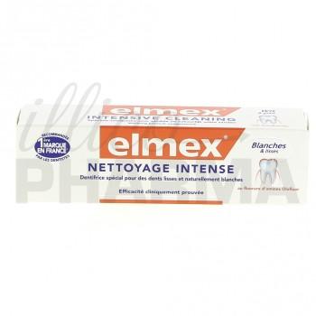 Elmex dentifrice nettoyage intense